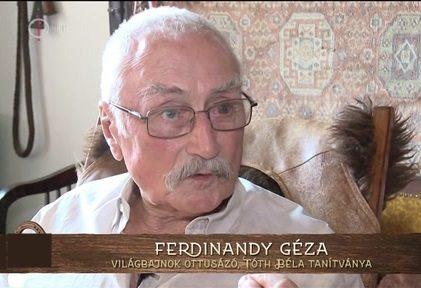 Elhunyt Ferdinandy Géza
