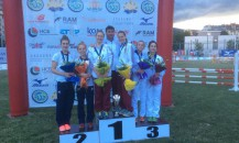 Magyar himnusz a Junior Európa-bajnokságon! Női váltónk állhatott a dobogó tetejére!