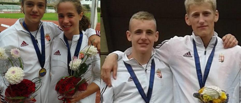Még két aranyérem az Ifjúsági B Európa-bajnokságon!