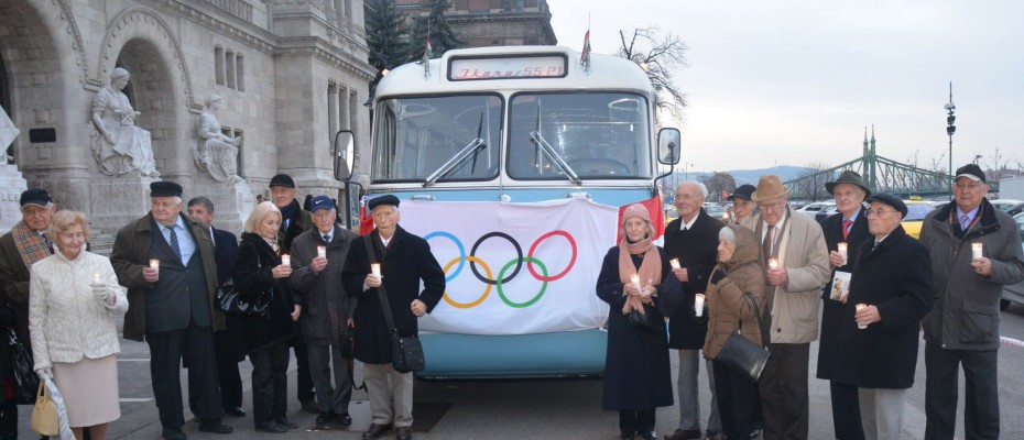 1956 – Melbourne-re és a forradalomra emlékeztek a magyar olimpikonok