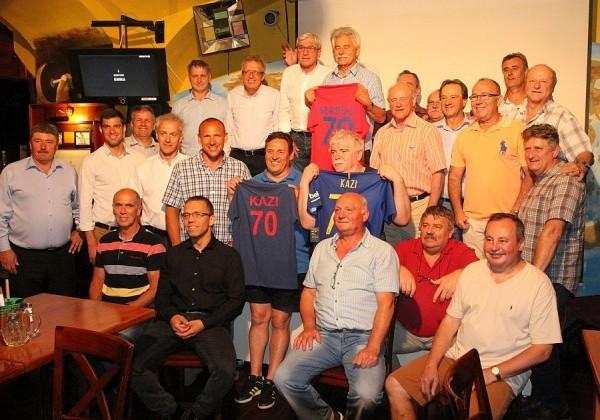 A 70 éves Kárai Kázmért ünnepelték