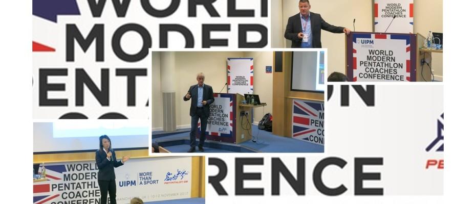 Magyar delegáció a manchesteri edzői konferencián