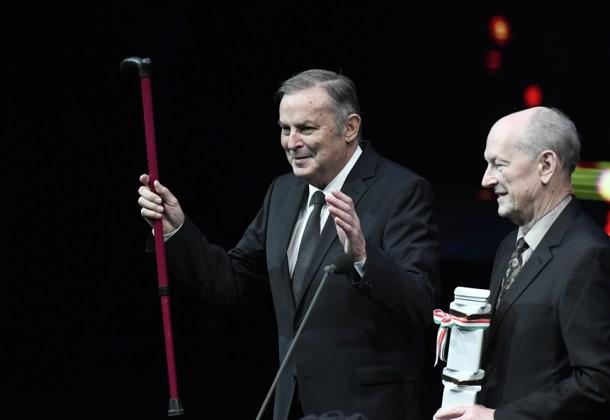 Balczó András életműdíjat kapott!