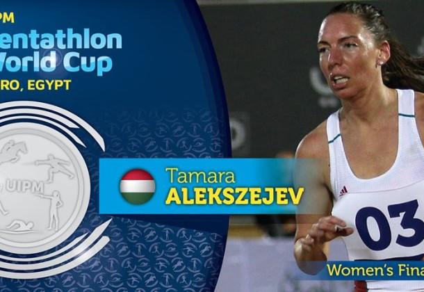 Alekszejev Tamara ezüstérmes lett a kairói világkupán!