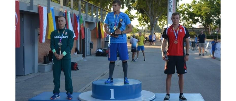Egyéni ezüst, csapat bronz a juniorok kontinensviadalán