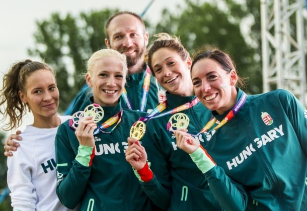 Kovács Sarolta bronzérmes, a magyar csapat pedig Európa-bajnok lett Székesfehérváron!