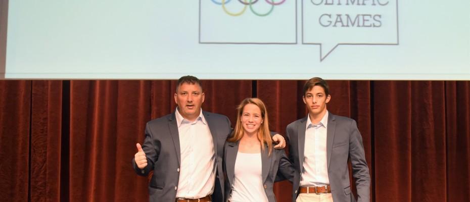 Fogadalmat tettek az ifjúsági olimpiára készülő magyar sportolók