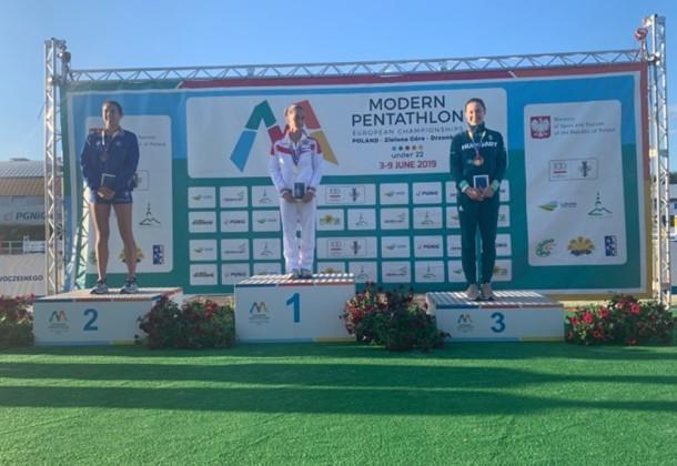 Guzi Blanka bronzérmes, a csapat negyedik lett a Junior Európa-bajnokságon