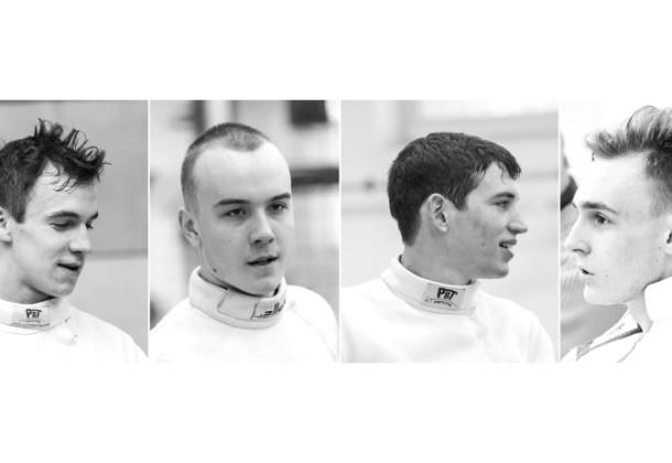 Mind a négy fiú döntőbe jutott a Junior Európa-bajnokságon.