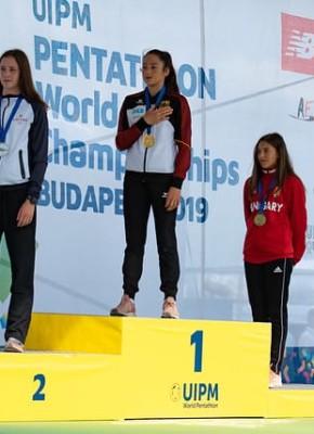 UIPM Laser Run Világbajnokság 2019 női egyéni