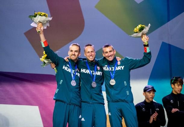 Kasza nagy napja – ezüstérmes a férfi csapat