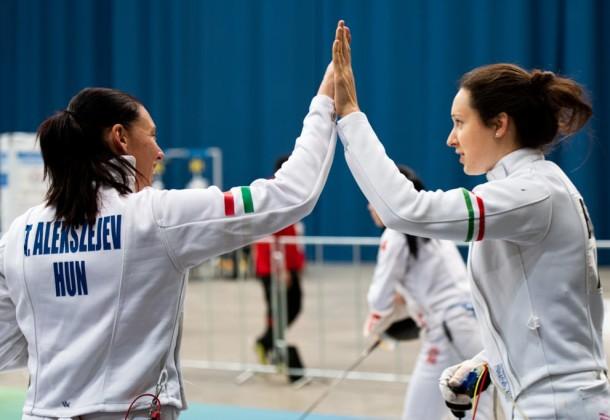 Négyen jutottak tovább a női döntőbe