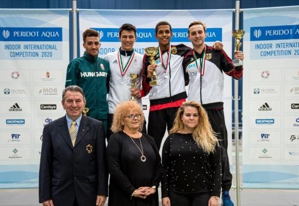 Német győzelem a Peridot fedett pályás versenyen. Bereczki Richárd a legjobb magyar