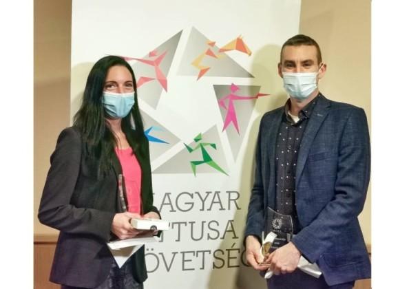 Alekszejev Tamara és Marosi Ádám az év öttusázója 2020-ban