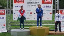 Bőhm Csaba és a magyar fiú csapat ezüstérmes lett a Junior Eb-n